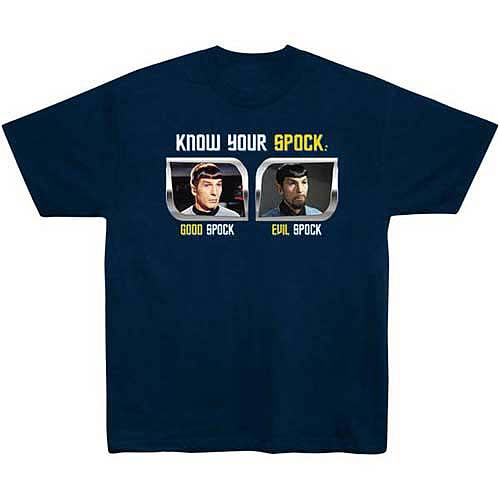 Star Trek T-Shirt: Know Your Spock T-Shirt