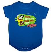 Mighty Mouse Here I Come Onesie