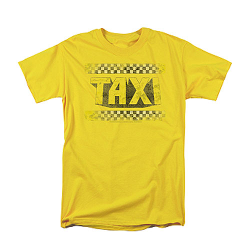 Taxi Distressed Logo T-Shirt