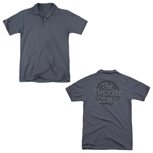 The Twilight Zone Spiral Logo Polo T-Shirt