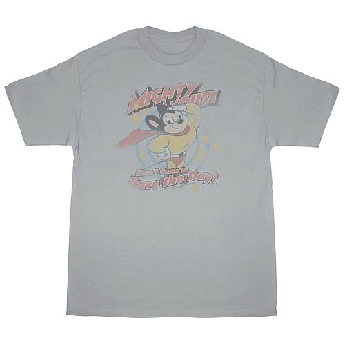Mighty Mouse At Your Service T-Shirt