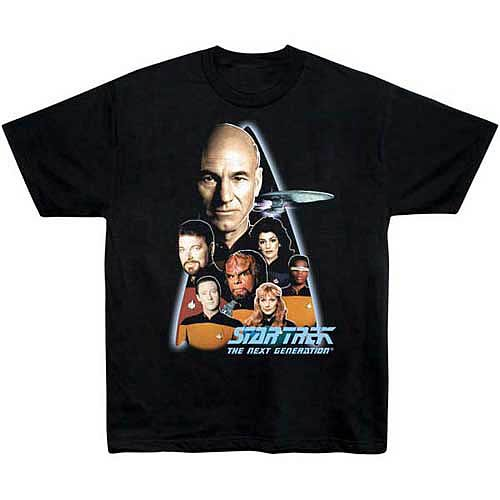 Star Trek T-Shirt: The Next Generation Crew
