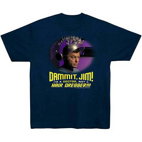 Star Trek Not a Hair Dresser McCoy T-Shirt