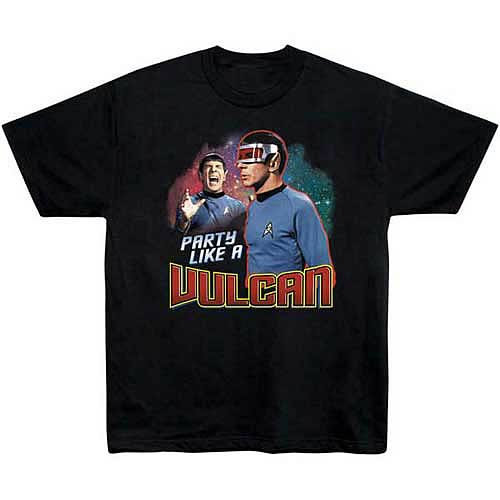 Star Trek Party Like a Vulcan T-Shirt
