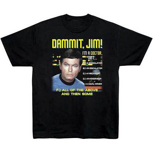 Star Trek All of the Above McCoy T-Shirt