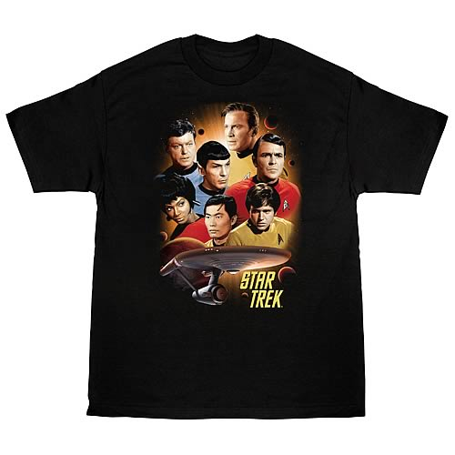 Star Trek Heart of the Enterprise T-Shirt