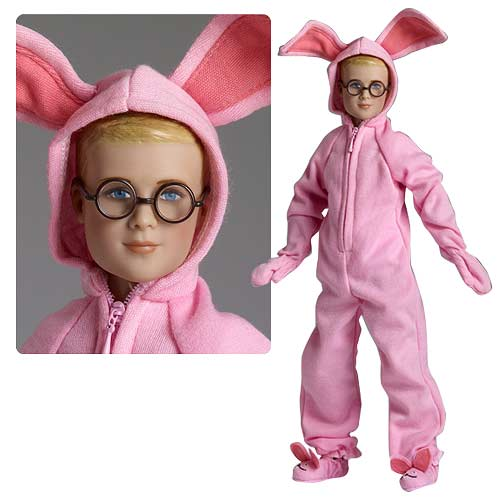 Christmas Story Ralphie Parker Aunt Clara Gift Tonner Doll