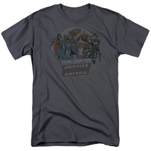 DC Originals Come Join The Justice League T-Shirt