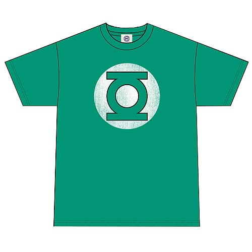 DC Originals Green Lantern Distressed Logo T-Shirt