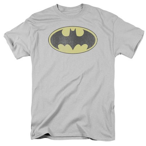 DC Originals Retro Batman Distressed  Logo T-Shirt