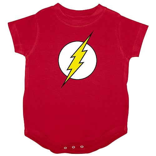 The Flash Logo Onesie