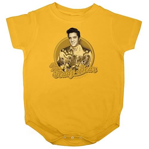 Elvis Presley Teddy Bear Onesie