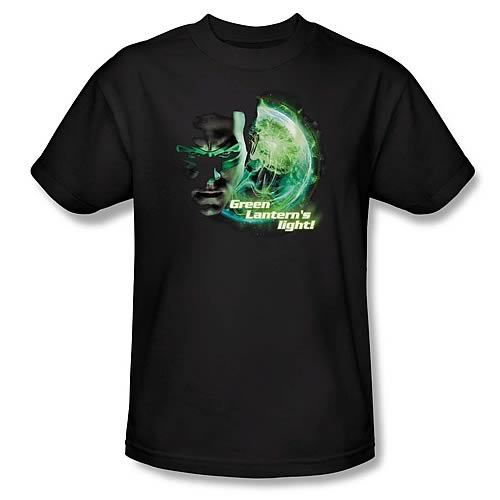Green Lantern Movie Beware the Light T-Shirt