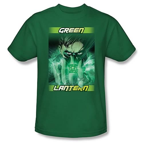 Green Lantern Movie In Your Face T-Shirt