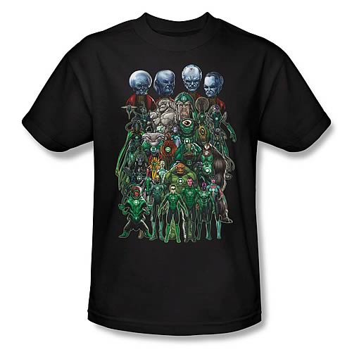 Green Lantern Movie Corps Group Shot T-Shirt