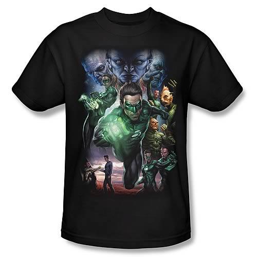 Green Lantern Movie Chosen Jordan T-Shirt