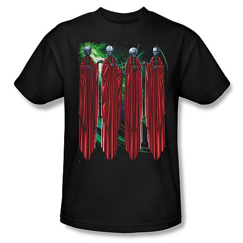Green Lantern Movie Four Guardians T-Shirt