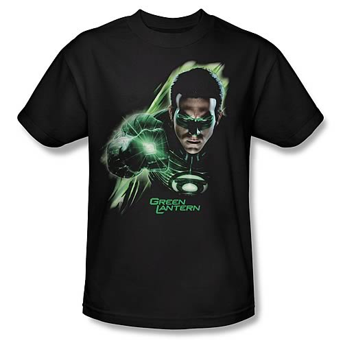 Green Lantern Movie Emerald Light T-Shirt