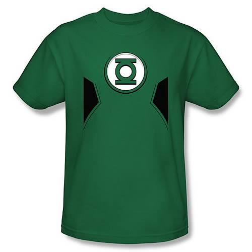 Green Lantern New 52 Costume Green T-Shirt