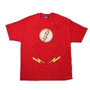 Flash New 52 Costume Red T-Shirt