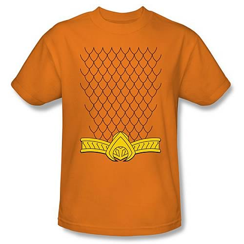 Aquaman New 52 Costume Orange T-Shirt