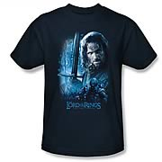 Lord of the Rings King in the Making Navy T-Shirt