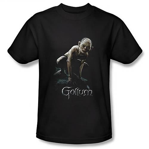 Lord of the Rings Gollum Black T-Shirt