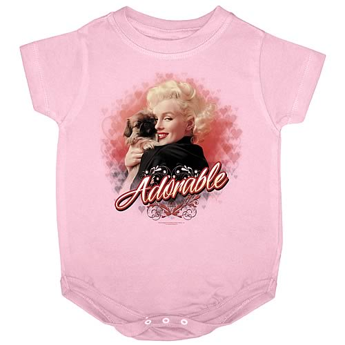 Marilyn Monroe Adorable Onesie