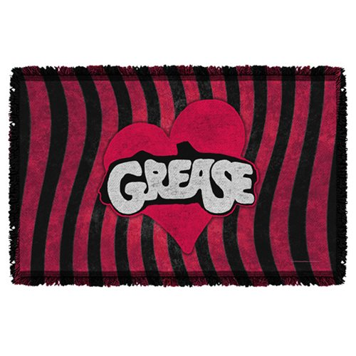 Grease Groove Woven Tapestry Throw Blanket