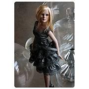Modern Revlon Silver Shimmer Tonner Doll Outfit