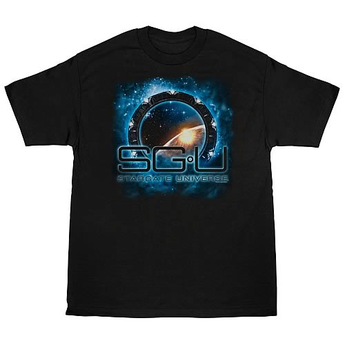 Stargate Universe New Worlds T-Shirt
