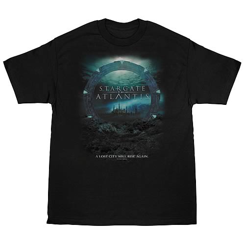 Stargate Atlantis Lost City T-Shirt