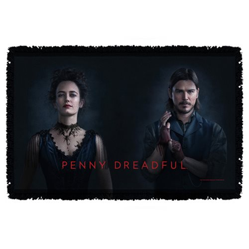 Penny Dreadful Ives And Chandler Woven Tapestry Blanket