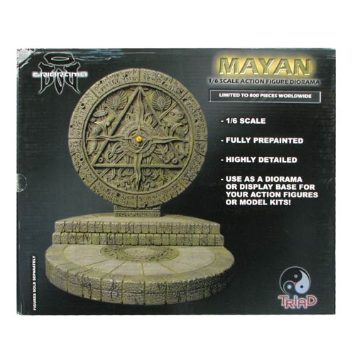 Triarama Mayan Ruin 1:6 Scale Environmental Diorama Statue