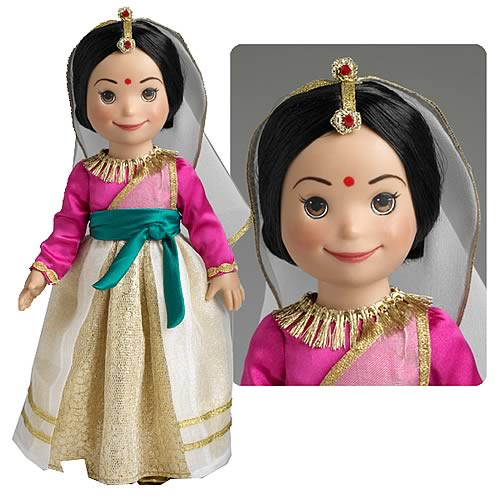 Disney Showcase It's a Small World India Tonner Doll