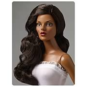 Tonner Nu Mood Brown Side Part Wave Wig Doll Accessory