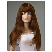 Tonner Nu Mood Chestnut Fringe Cut Wig Doll Accessory