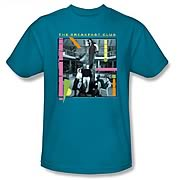 Breakfast Club Whole Gang Turquoise T-Shirt
