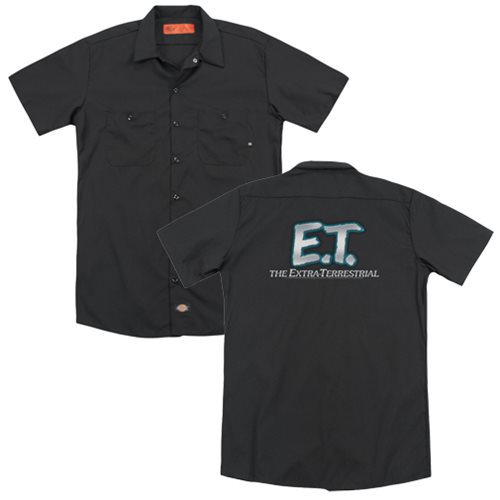 E t logo work shirt trevco e t polo shirts at for Work polo shirts with logo