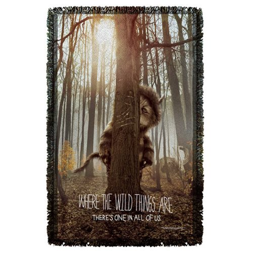 Where The Wild Things Are Wild Thing Tree Throw Blanket