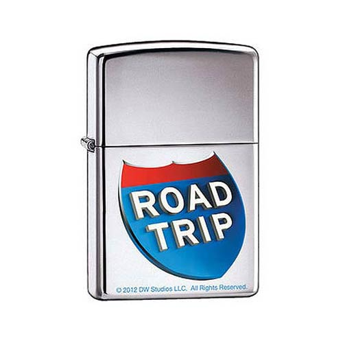 Road Trip High Polished Chrome Zippo Lighter