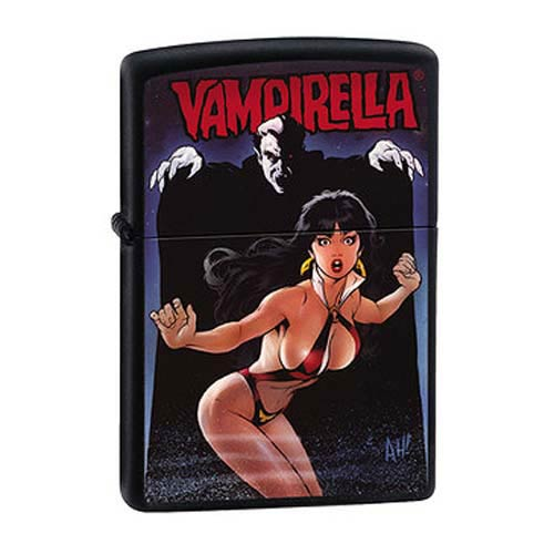 Vampirella Surprise! Black Matte Zippo Lighter