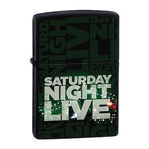 Saturday Night Live Intro Black Matte Zippo Lighter Lighter