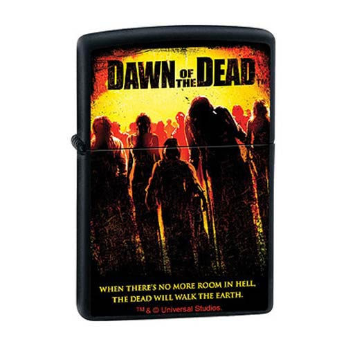 Dawn of the Dead Black Matte Zippo Lighter