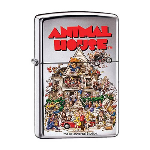 Animal House Movie Poster High Polished Chrome Zippo Lighter