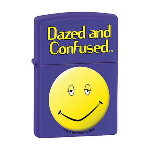 Dazed and Confused Purple Matte Zippo Lighter