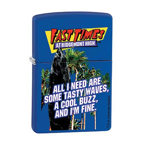Fast Times at Ridgemont High Tasty Waves Zippo Lighter