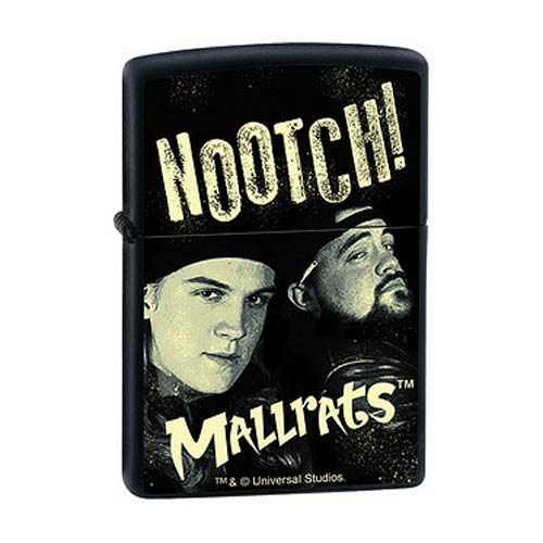 Mallrats Jay & Silent Bob Nootch! Black Matte Zippo Lighter
