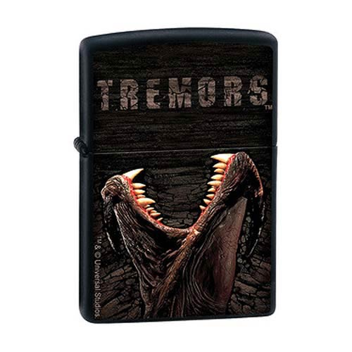Tremors Movie Poster Monster Black Matte Zippo Lighter