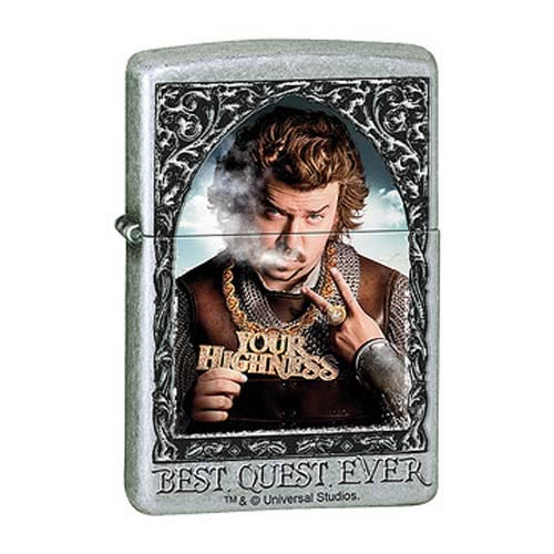 Your Highness Best Quest Ever Street Chrome Zippo Lighter